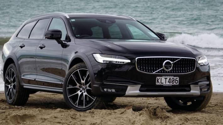 volvo v90 cross country sends the xc90 back to (old) school stuffvolvo v90 cc has all the design cues and tech of the xc90 suv, but