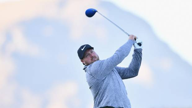 Tom Walsh competed in the New Zealand Open pro-am in Arrowtown in March.