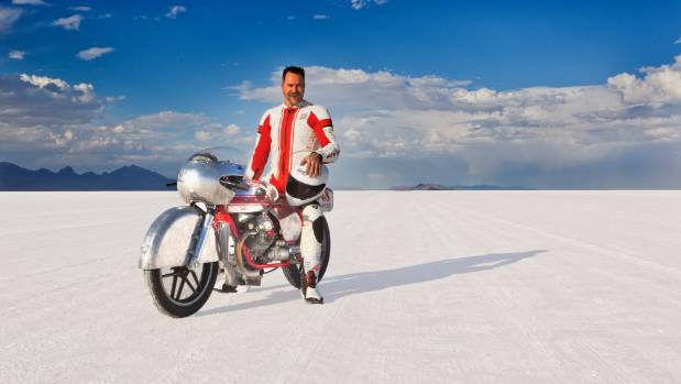 Michael Noonan at the Salt Lake Flats in 2015. Unfortunately the races were cancelled due to flooding ten days before ...