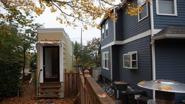 This tiny 'spite house' is in Seattle. Some sources believe it resulted from a marriage split, with the husband getting ...