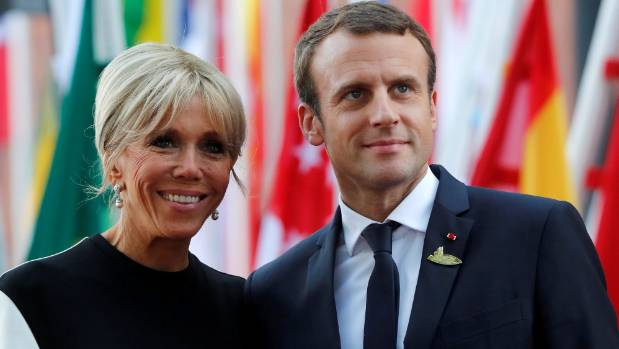 """As the row over the """"first lady's charter"""" threatens to engulf Macron, will Macron's devotion to his wife threaten his ..."""