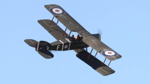 A Bristol F2B Fighter takes to the skies during Warbirds over Wanaka in 2007. (File photo)