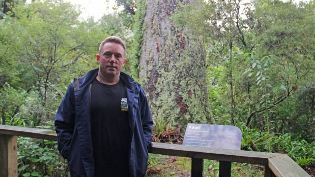 Dr Nick Waipara, an author of Kauri Dieback Report 2017, says the public has to be better at using the spray-stations.