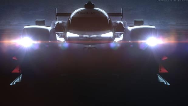 Acura teases new ARX-05 Prototype Race Car.