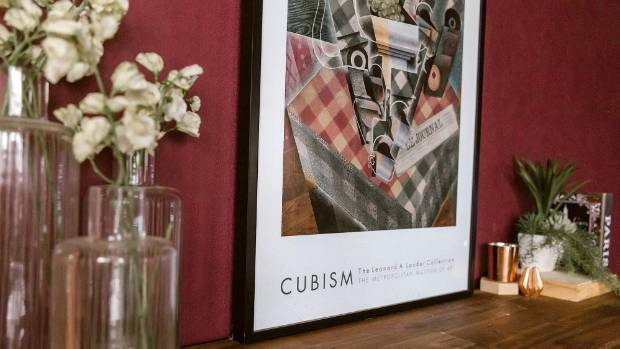 Her favourite piece of art is this cubism portrait that her friend bought back from Leonard Lauder's MET exhibition in ...