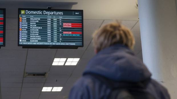Passengers were allegedly offered $8 for refreshments while they waited at Christchurch Airport for their 5.20pm ...