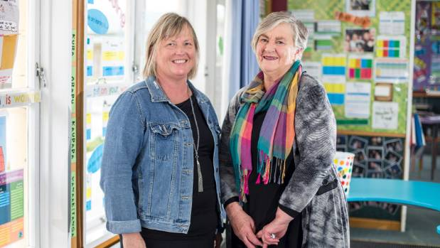 Whitney Street School teacher Robyn Anderson, left, was nomimated by Helen Winstanley for making a difference in her ...