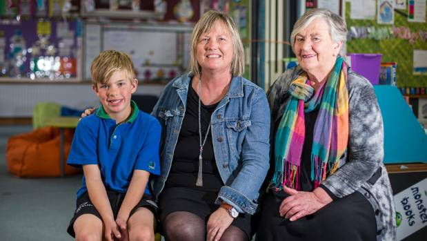 Whitney Street School teacher Robyn Anderson, centre, was nominated for a Favourite Teacher Award by Blenheim woman ...