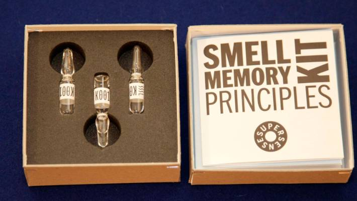 Sissel Tolaas has developed a world-first smell memory kit.