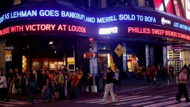 The bankruptcy of Lehman Brothers and sale of Merrill Lynch were part of a restructuring and consolidation of the US ...