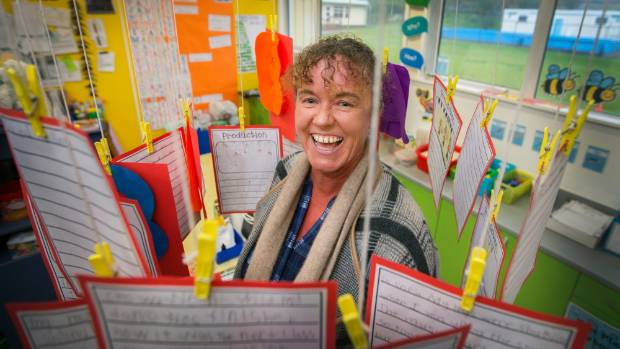 Sue Gunn says the most important part of teaching is connecting with the kids.