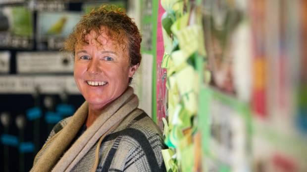 Sue Gunn is the Taranaki winner of the Favourite Teachers Awards.