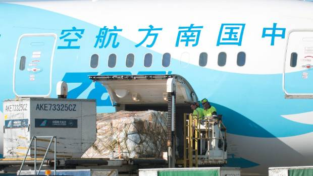 A Christchurch airport store on TMall Global will feed freight holds on China Southern aircraft.