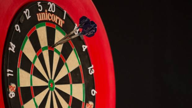 The maximum: Three darts in the triple-20 slot gives players a 180.