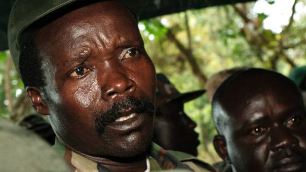 Leader of the Lord's Resistance Army Joseph Kony.