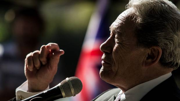 NZ First leader Winston Peters is confident about being part of the next government.