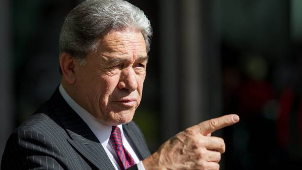 A dark and glowering Winston Peters hurling rhetorical thunderbolts at all and sundry will find himself very poorly ...