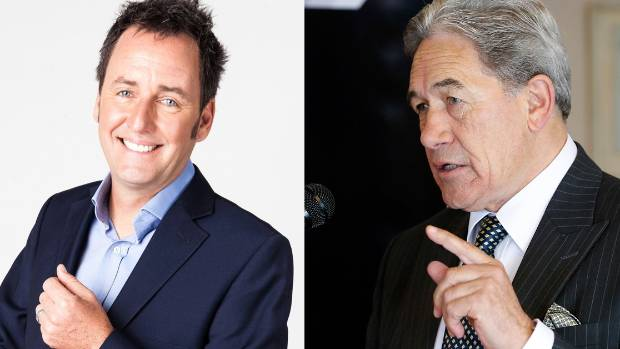 "Winston Peters says it is ""just outrageous"" for Mike Hosking to be hosting TVNZ's election debates."