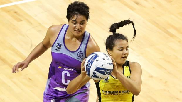 New Zealand under-21 midcourter Kimiora Poi, right, will be a fresh addition to the Tactix midcourt.
