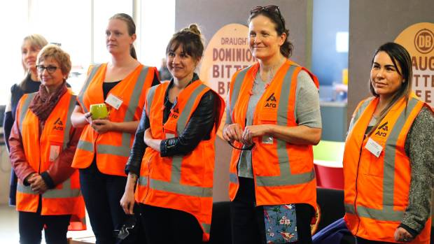 South Canterbury educators visit DB Breweries on Thursday as part of a tour designed to highlight jobs within the food ...