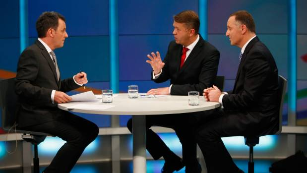 Mike Hosking hosted the 2014 election debates and will do the same this year.