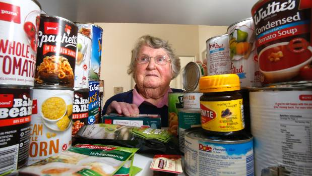 St Vincent De Paul food bank co-ordinator Mary Brown has noticed an increase in demand for the charity's services.