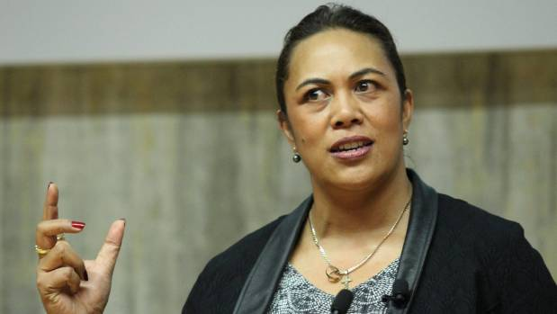 Faumuina speaking at the Kea Inspire event in Auckland in 2015. She has recently begun a new job as New Zealand trade ...