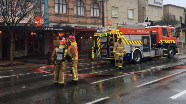 The extent of damage from the chimney fire was not yet known, a Fire and Emergency NZ spokesman said.