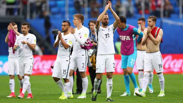 New Zealand are 123rd in Fifa's world rankings.