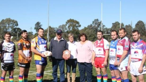 Every team in the Hunter Valley Group 21 competition will wear specially commissioned shirts and socks to raise money ...