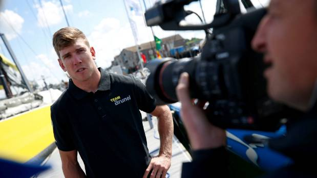 Olympic champion Peter Burling joins Team Brunel in the Volvo Ocean Race