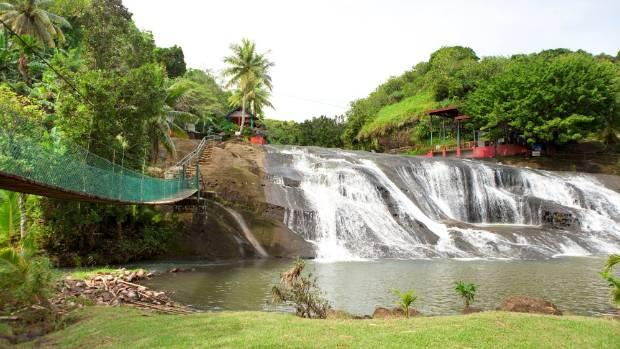 Talofofo Falls in the south of Guam.