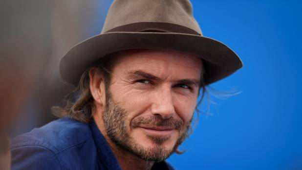 Like all doting dads, David Beckham is happy to tackle the daunting task of building a Lego Disney castle for his daughter.