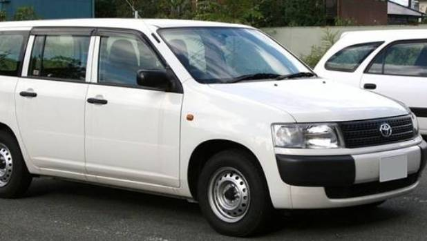 Wellington Police are appealing for sightings of a white van.