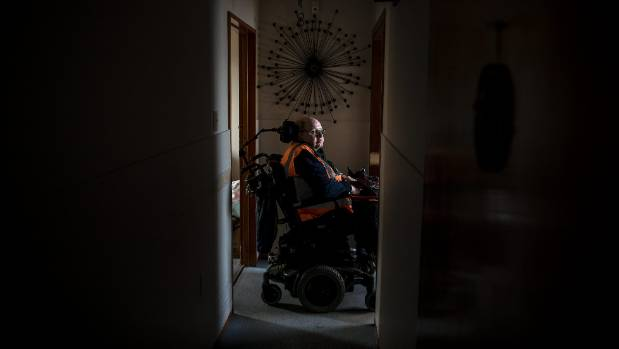 Christchurch man Peter Lawrence's disability benefit was cut without warning for a month.