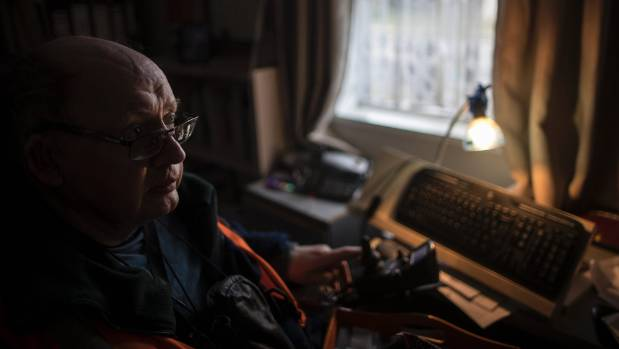 Lawrence, 60, has been tetraplegic for 32 years.
