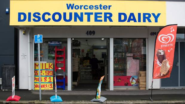 About $1000 of cigarettes were stolen from the Worcester Discounter Dairy.