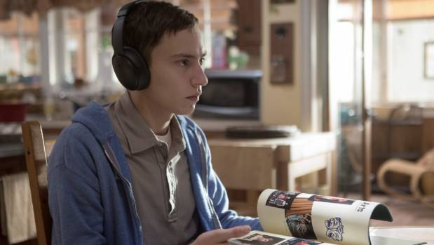 Keir Gilchrist delivers a remarkable performance as the autistic Sam in Atypical.