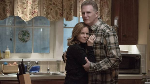 Jennifer Jason Leigh and Michael Rapaport play Sam's parents Elsa and Doug in Atypical.