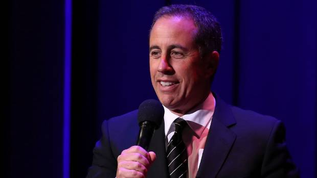 Jerry Seinfeld avoids anything to do with politics, sticking tightly to his razor sharp dissection of everyday events.