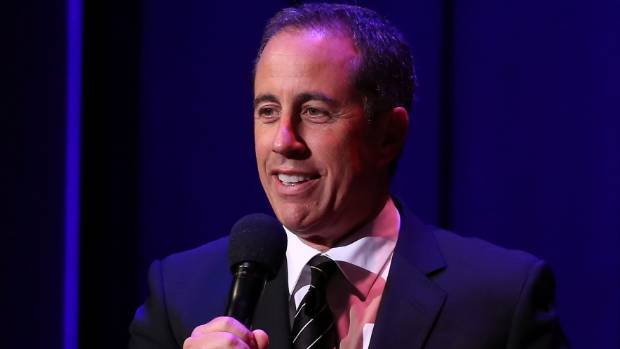 It's taken nearly 20 years but Jerry Seinfeld finally got to perform for New Zealand
