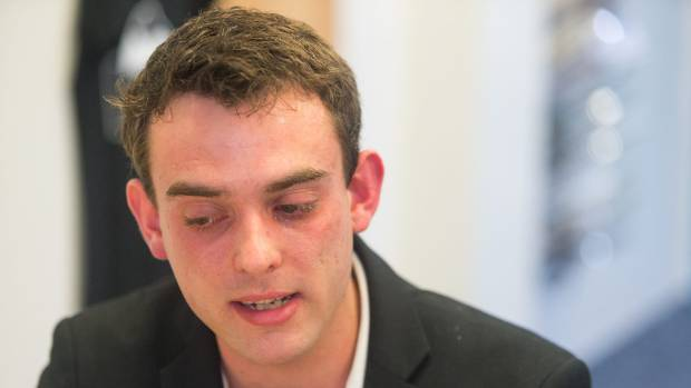 Keegan Jones, 23, went to Health Minister Jonathan Coleman with a proposal to screen high school students for mental ...