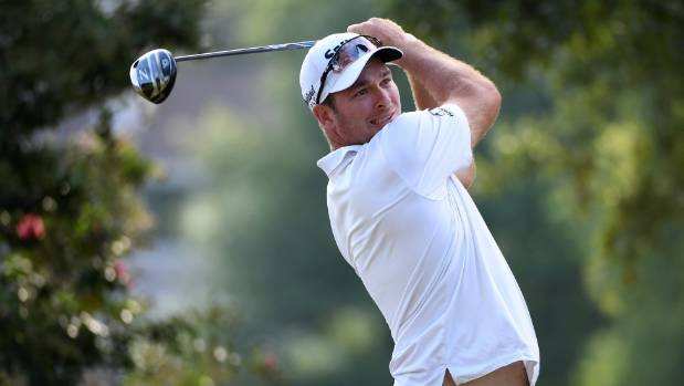Ryan Fox shot up the leaderboard in the second round of the 2017 PGA Championship at Quail Hollow.
