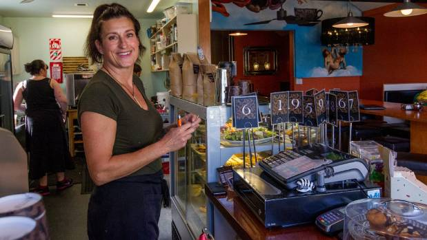 Ris'tretto owner Madeleine de Jong says she's heartened by her customers' support.