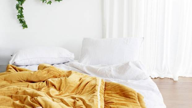 Good news, mattress designer David Henderson says don't make your bed everyday, it helps to keep your mattress in better ...