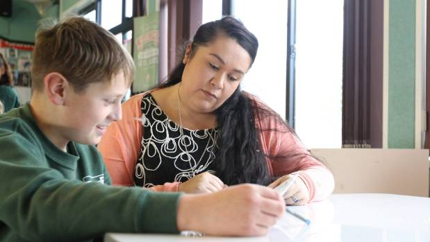Jared Duncan's life turned around once Trina Wilkinson became his teacher.