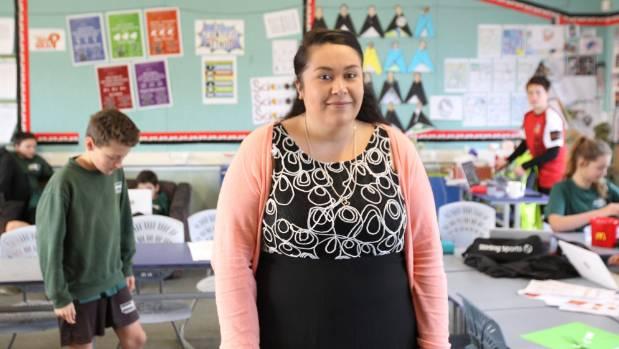 Broadgreen Intermediate teacher Trina Wilkinson has received the Favourite Teacher Award.