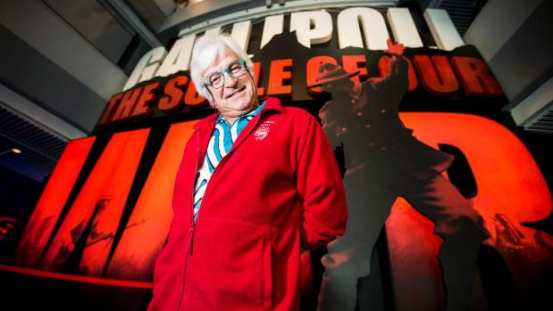 Former TVNZ personality Roger Gascoigne is keen to welcome another 1.5 million guests to Te Papa's Gallipoli: The Scale ...