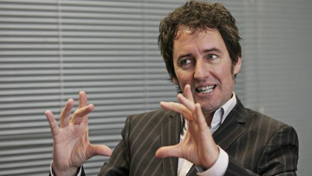 Hosking in action.