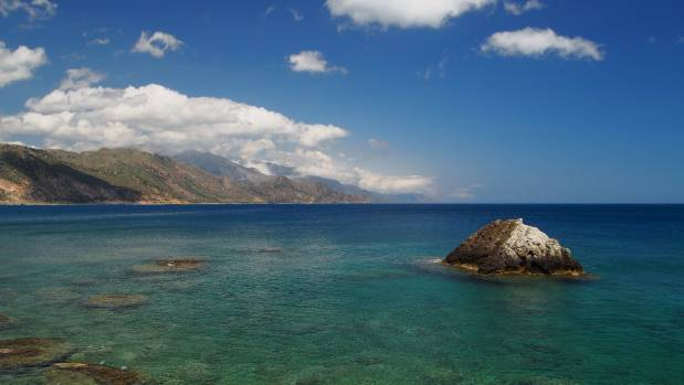 The photo was taken in Crete (Greece) at Paleochora,  a popular destination for Kiwis. The beauty of the coastline is ...